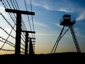铁栅栏 curtainc — 图库照片