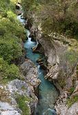 Soca river, Slovenia — Stock Photo