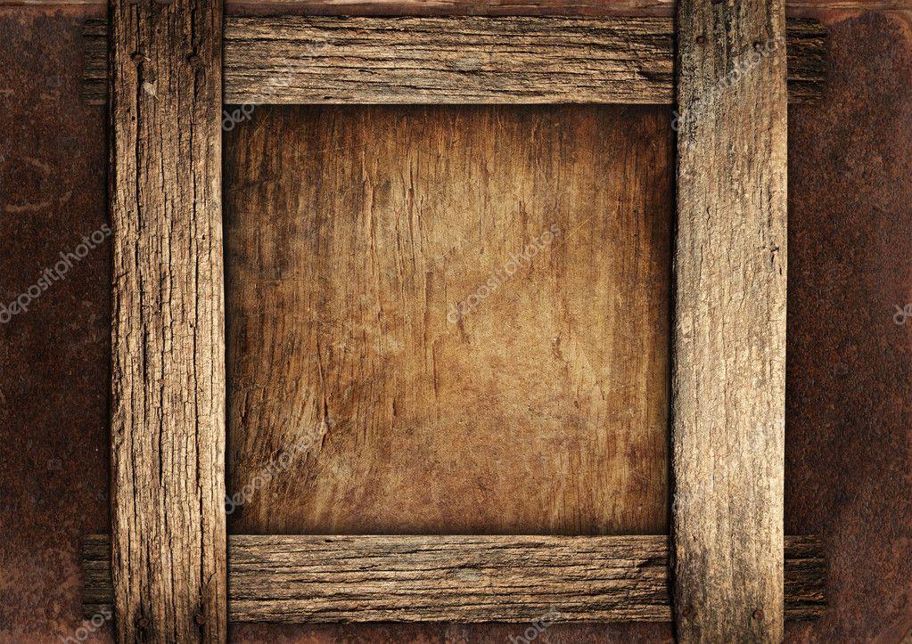 Vintage Wooden Frame Stock Photo Katrin5 2096264