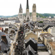 Stock Photo: City scape of Rouen