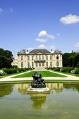 Manor building and garden Rodin — Stock Photo