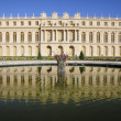 Palace building of Versailles - Stock Photo