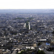 City scape of Paris — Stockfoto