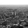 Stok fotoğraf: City scape of Paris city