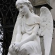 Angel Statues  artwork - Stock Photo