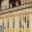 Stock Photo: Building of Piazza San Pietro