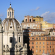 City scape of Rome city - Stok fotoğraf
