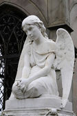 Angel Statues artwork — Stock Photo