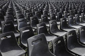 Endless and empty seat — Stock Photo