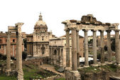 Ruin place of Rome city — Stock Photo