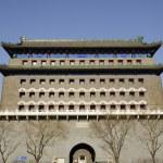 Landmark of Qianmen gate in beijing — Stock Photo #2256096