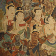 Buddhism painting of  Dunhuang Grottoes — 图库照片