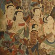 Buddhism painting of  Dunhuang Grottoes — Stock Photo