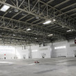 Big empty warehouse - Foto Stock