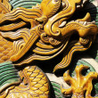 Dragon sculpture of chinese royal — Stock Photo