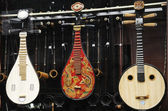 Musical instrument shop — Stock Photo