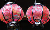 Lantern artwork of Chinese style — Stock Photo