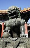 Статуи львов — Стоковое фото