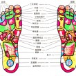 Acupuncture map for foot — Stock Photo #2271884