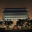 Landmark of Qianmen gate in beijing - Stock Photo