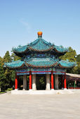 Pavilion building in Chinese style — Stock Photo