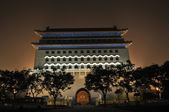 Landmark of Qianmen gate in beijing — Stock Photo