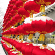 Lanterns decoration in festival of China — Stok fotoğraf
