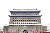 雪の後の中国の建築 — ストック写真