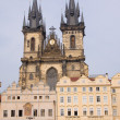 Prag old town square - Stock Photo