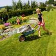 Female gardening — Stock Photo #2172257