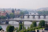 Prag panorama — Stock Photo