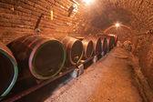 şarap fıçıları — Stok fotoğraf