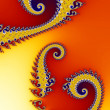 Royalty-Free Stock Photo: Fractal background