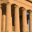 Greek temple - Stock Photo