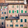 Siena historic architecture — Stock Photo