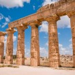 Greek temple in Selinunte — Stock Photo #2317395