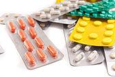 пакеты таблетки — Стоковое фото