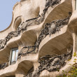 Art nouveau in barcelona — Stock Photo