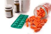 Bunch of pills — Stock Photo