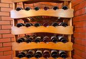 Wine bottles — Photo
