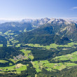 Alpine landscape - Stock Photo