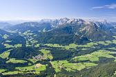 Alpine landschap — Stockfoto
