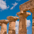 Greek temple in Selinunte — Stock Photo #2480189