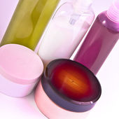 Creams and lotions — Stock Photo