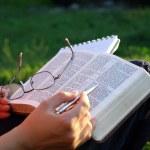 Bible study — Stock Photo