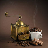 Antiquity coffee machine — Stock Photo