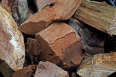 Wood Chunks — Stock Photo