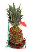 Christmas Pineapple — Stock Photo
