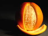 Cáscara de naranja — Foto de Stock