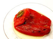 Roasted Red Pepper — Stock Photo